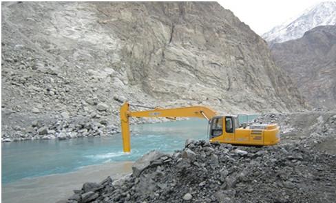徐工XE260CLL挖掘机援建阿尔巴尼亚
