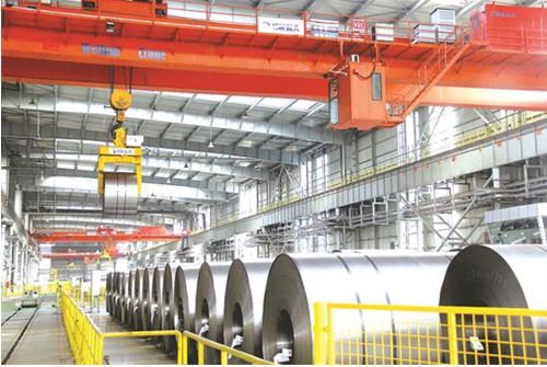 包钢创建西北地区首个工业智能仓库探秘