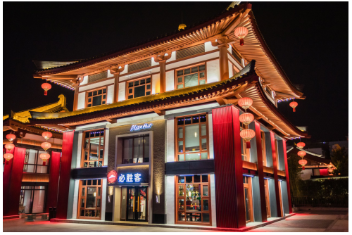 必胜客ⅹ陕历博开出首家博物馆主题餐厅