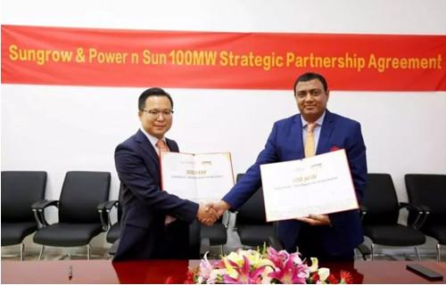 阳光电源签订中东户用&工商业200MW订单