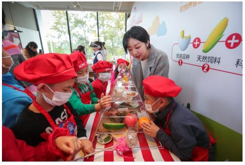 少年儿童食品安全教育活动走进社会餐厅