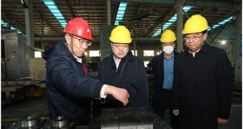 闫剑波调研中韩自贸区地方经济合作示范区产业园建设