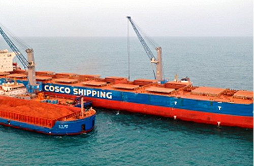 科尼集团再次赢得两台来自中国的驳船起重机订单