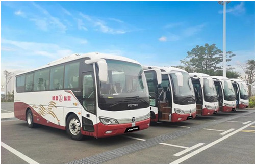 福田欧辉BJ6906城间客车成功交付福建泉运集团