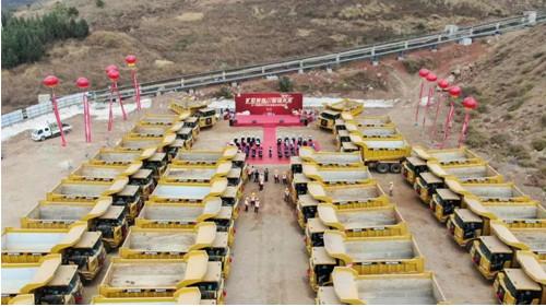 矿世英雄集结!三一45台大矿车一次交付