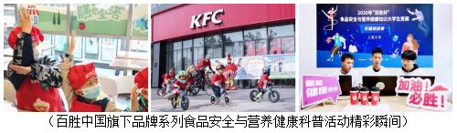 倡导健康生活方式 百胜中国鼓励消费者选择更多蔬果